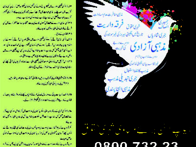 Urdu Poster (Rights For All)